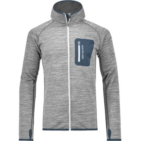 """Ortovox M's Fleece Melange Hoody Grey Blend"""